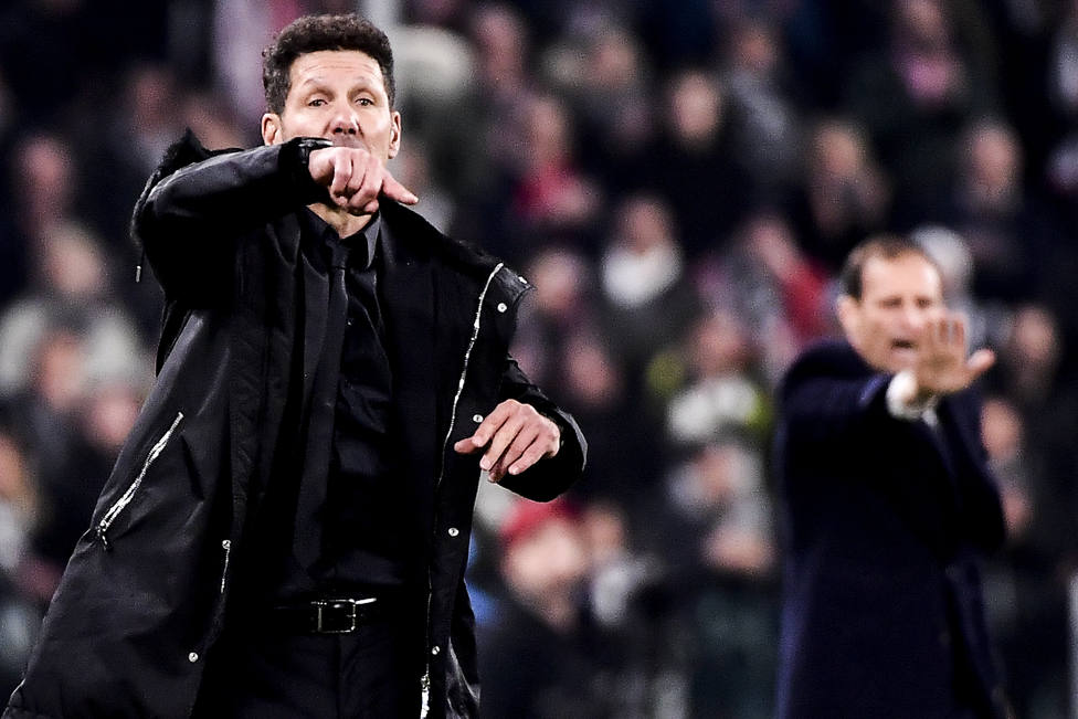 Simeone: Ellos fueron mejores y merecieron ganar