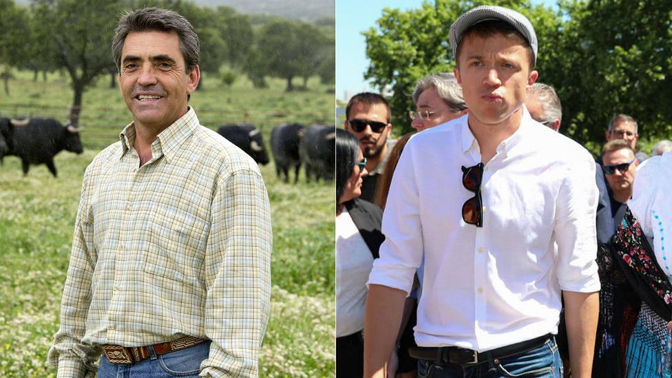 Victorino Martín le recuerda la legislación vigente a Íñigo Errejón, candidato de Más Madrid