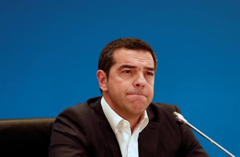 """Tsipras acepta la derrota electoral y asegura que se va """"con la cabeza alta"""""""