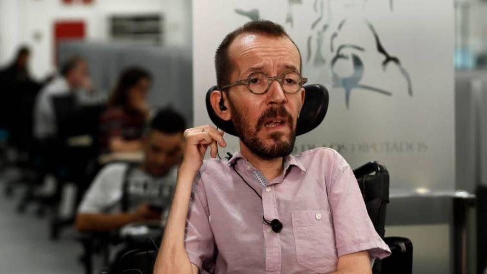 Pablo Echenique se mofa de Sánchez con esta parodia sobre la investidura