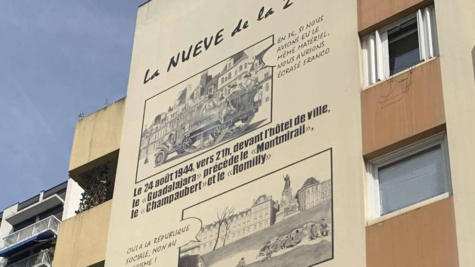 París homenajea a La Nueve, la compañía de republicanos españoles que inició la liberación de los nazis