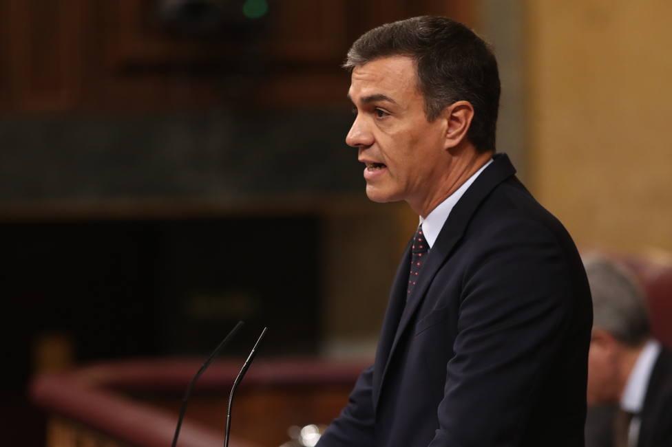 Sánchez promete que trabaja para que la Diada llegue a ser la fiesta de todos los catalanes