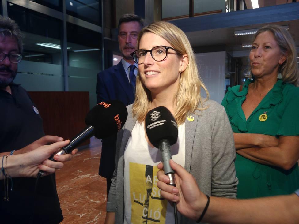 JxCat critica que Carmena abra La Mercè: No sé qué le dirá Colau cuando vea el lazo amarillo