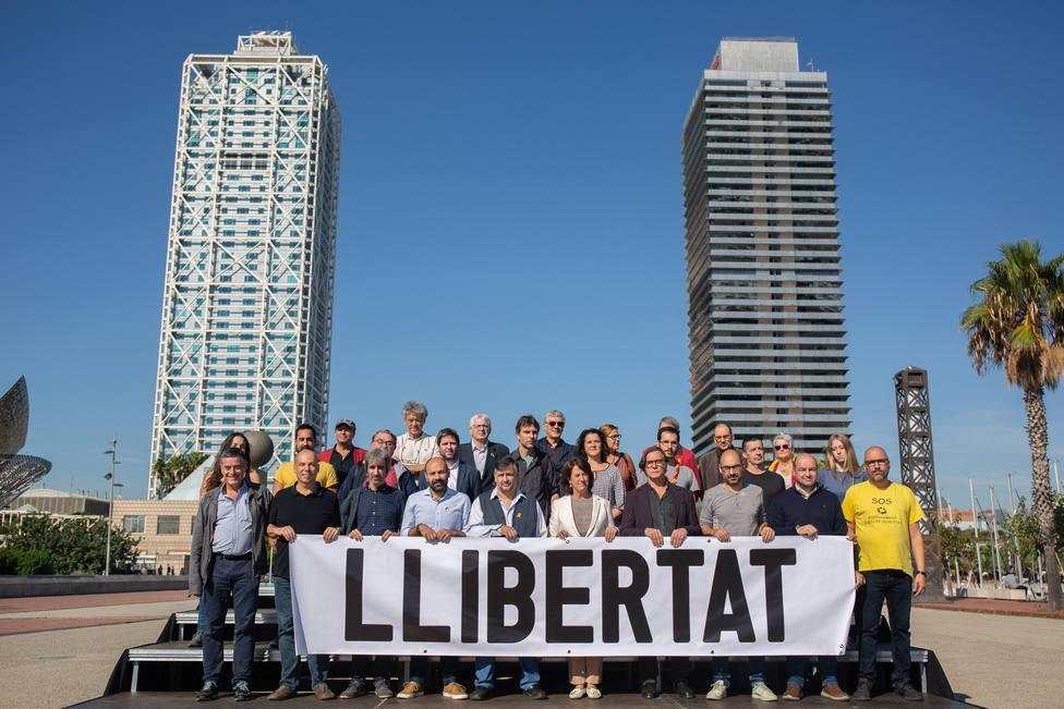 El soberanismo buscará este sábado en Barcelona la manifestación más masiva contra la sentencia