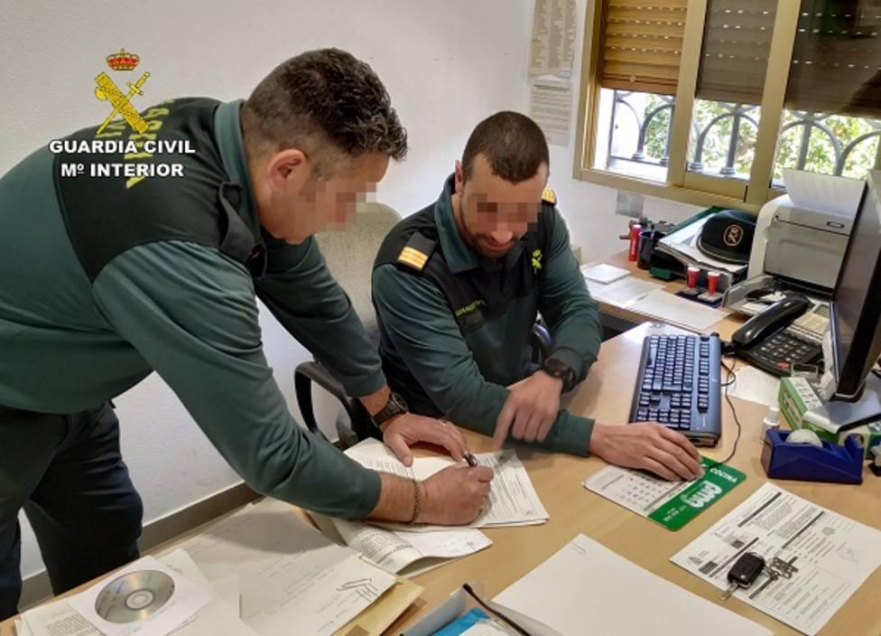 La Guardia Civil detiene en Mula a un experimentado delincuente dedicado a cometer atracos