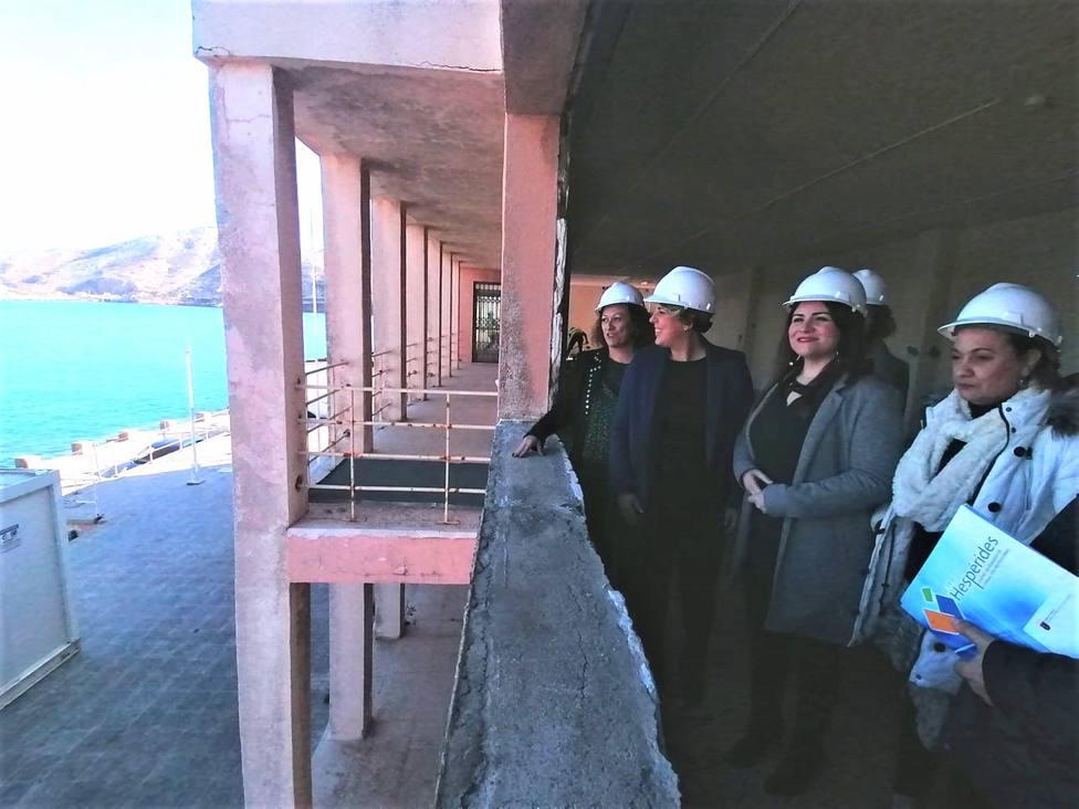 Las obras en el Lazareto para albergar un centro de FP finalizarán en unos seis meses
