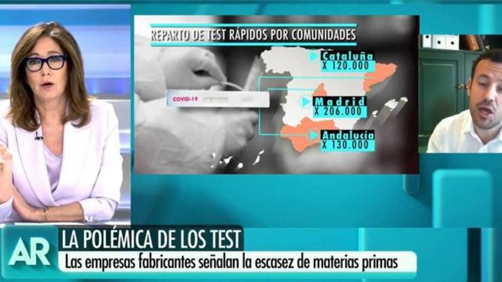Ana Rosa Quintana obligada a desmentir una información tras ponerse en contacto con el Gobierno