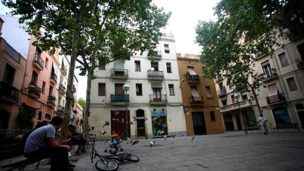 Imagen del barrio de Gràcia de Barcelona