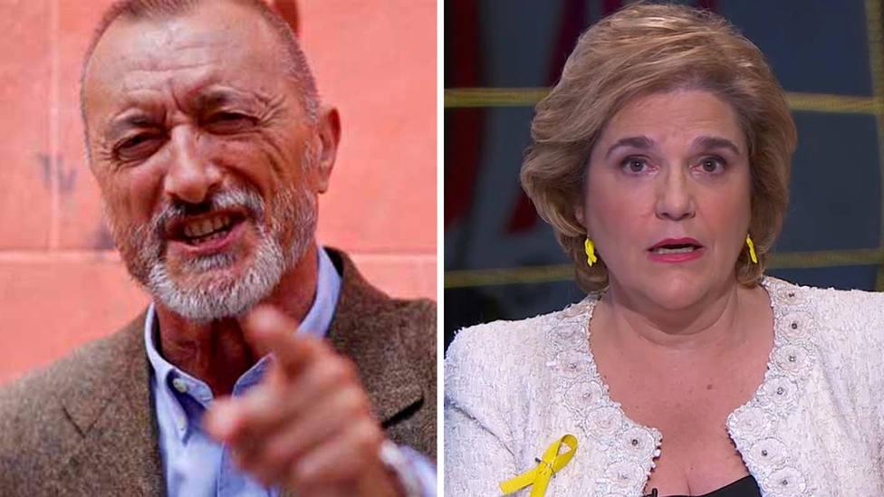 "La brutal respuesta de Pérez-Reverte a Pilar Rahola: ""Pasó sin ducharse de la política al periodismo"""