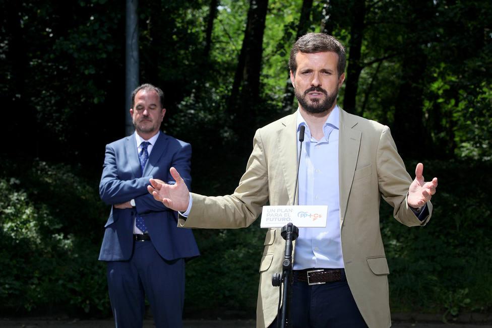 Casado lamenta la derrota de Calviño y asegura que el radicalismo y la inestabilidad no gustan en Europa