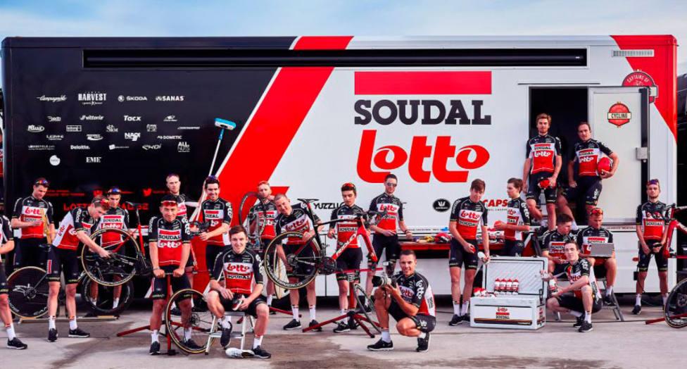 Dos miembros del cuerpo técnico del Lotto, primeros positivos en el Tour por COVID-19