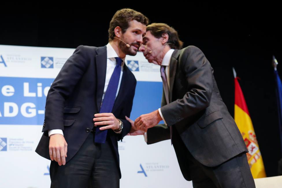 Casado y Aznar, juntos este viernes en unas jornadas sobre el futuro de Europa