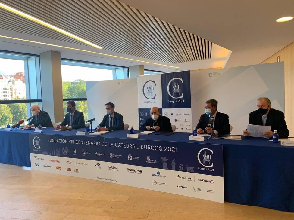 Burgos prolongará las celebraciones de los 800 años de la Catedral durante 2022
