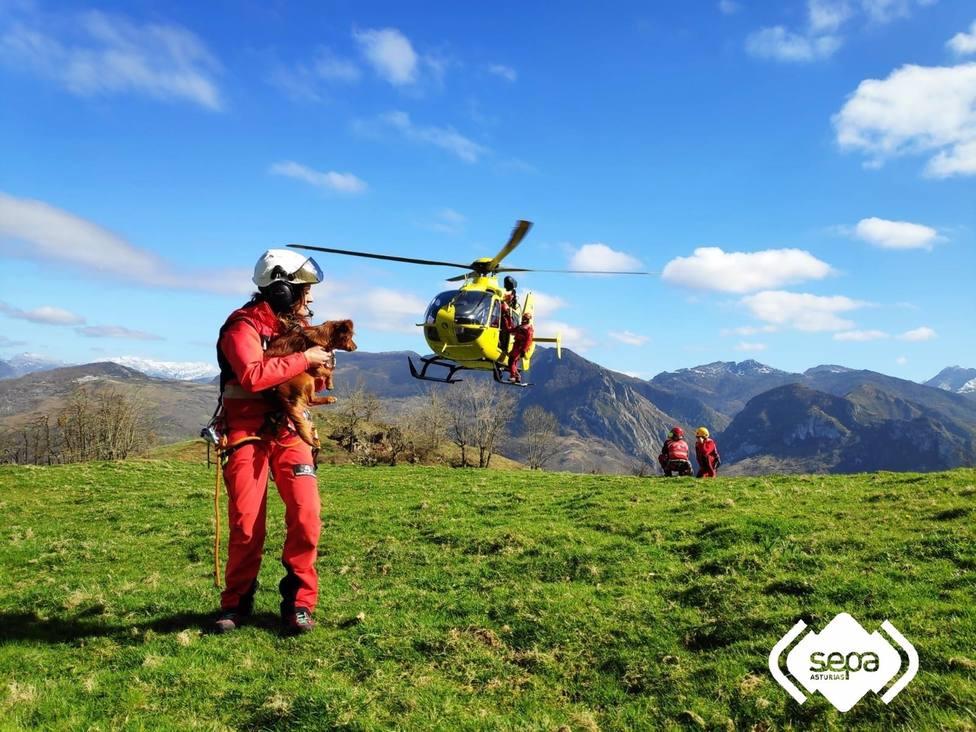 Foto del Servicio de Emergencias del Principado de Asturias