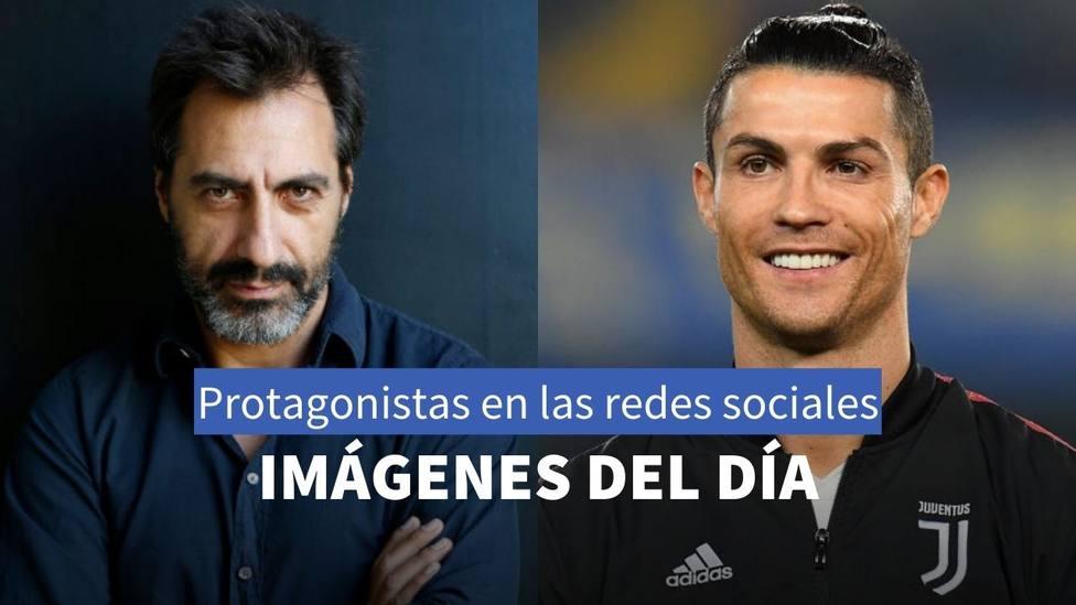 Juan del Val y Cristiano Ronaldo