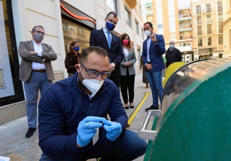 Un dispositivo especial rastreará las trazas de COVID-19 en contenedores y papeleras del municipio