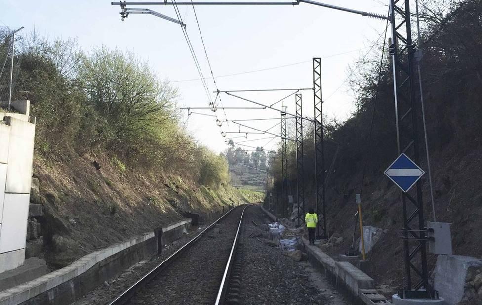 Tramo ferroviario