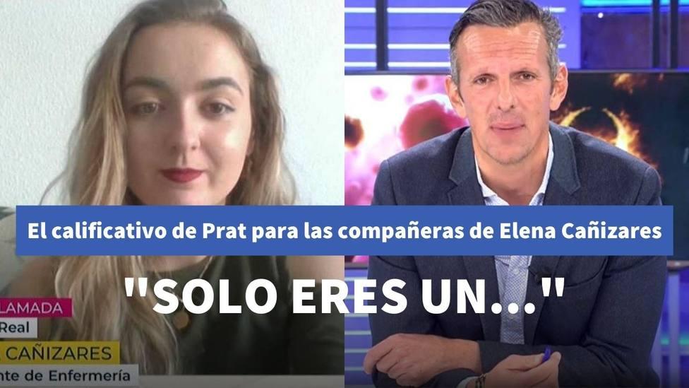 El calificativo de Joaquín Prat a Elena Cañizares al hablar de sus compañeras de piso