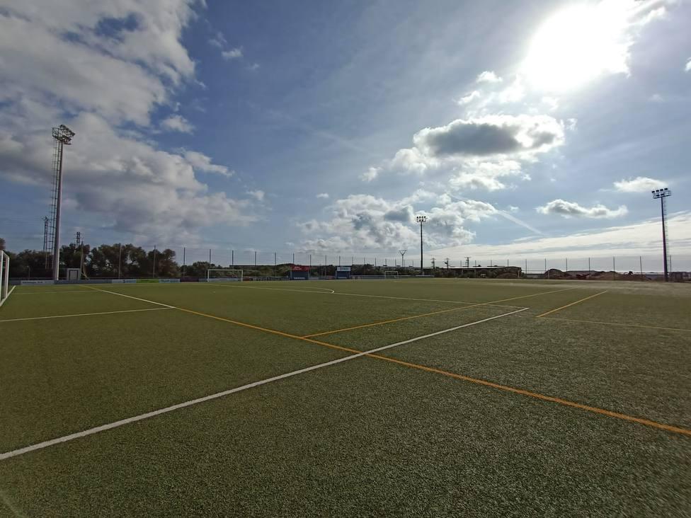 El Ayuntamiento impulsa una serie de mejoras en las instalaciones del C.F. Sporting de Mahón