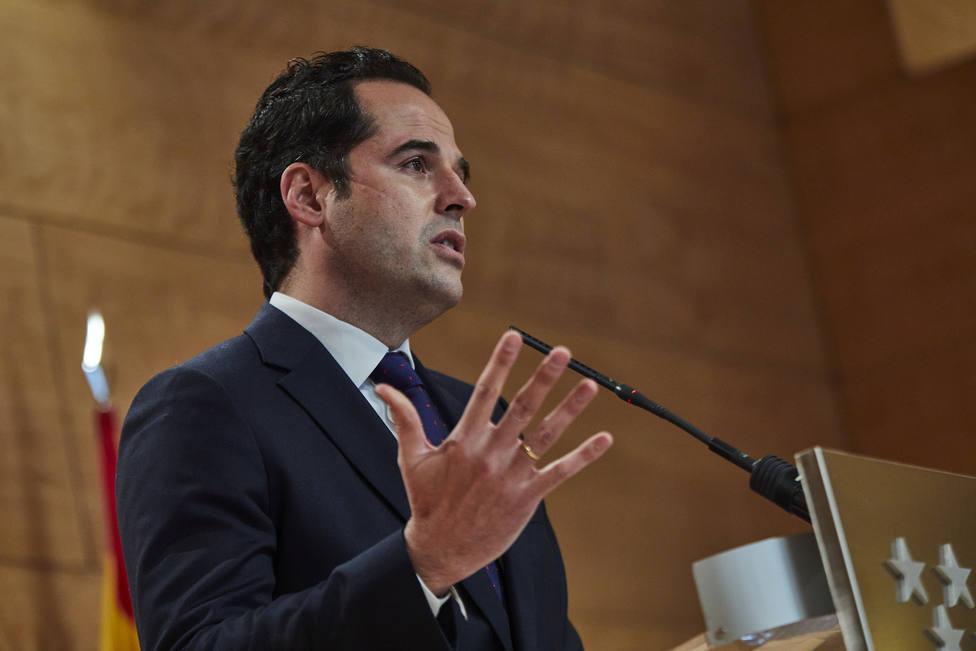 El vicepresidente de la Comunidad de Madrid y portavoz del Gobierno regional, Ignacio Aguado