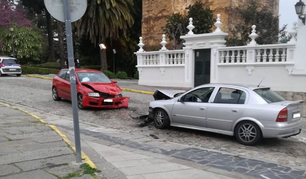 Estado en el que quedaron los vehículos siniestrados - FOTO: José Martínez