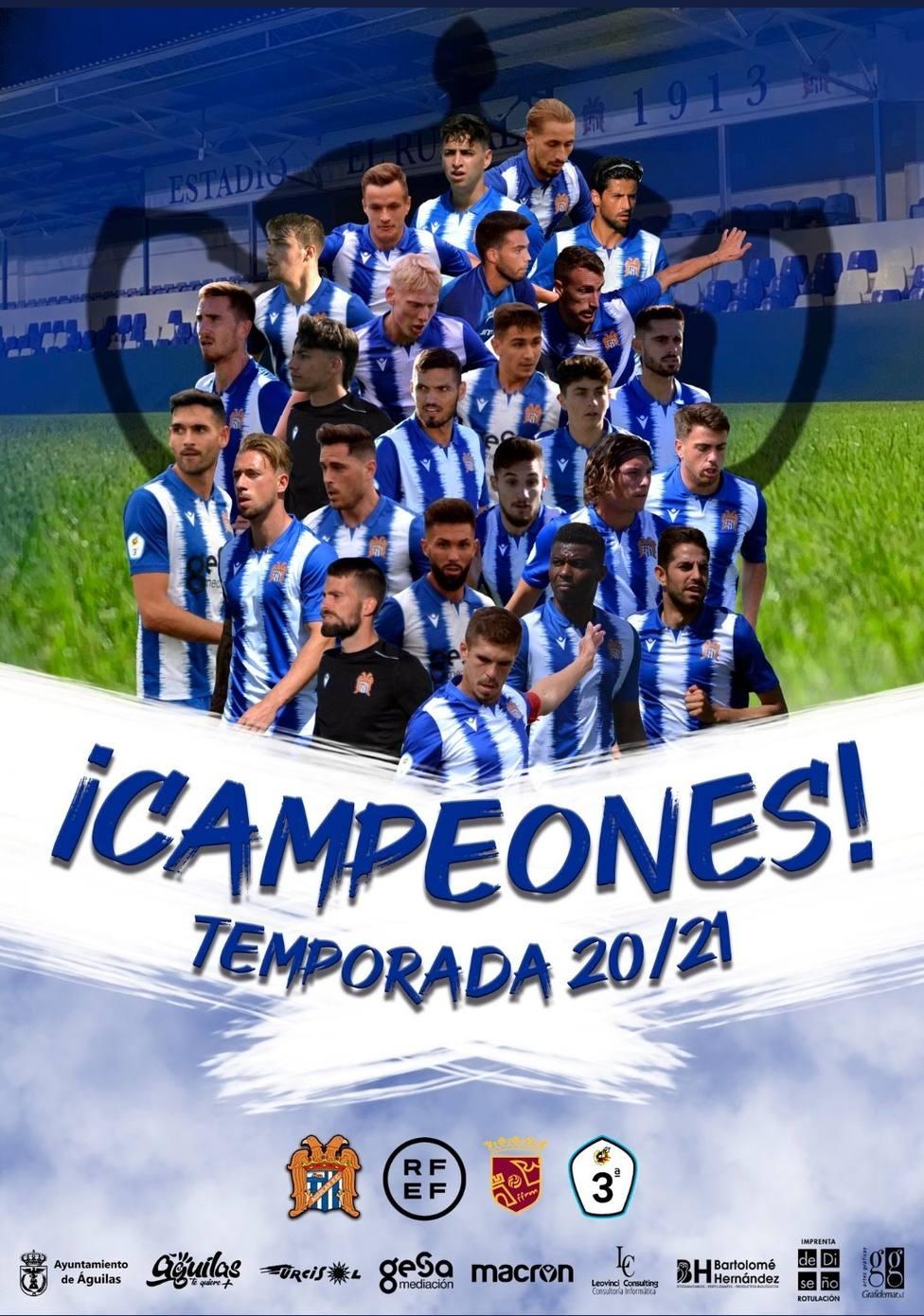 El Águilas FC es equipo de Segunda RFEF