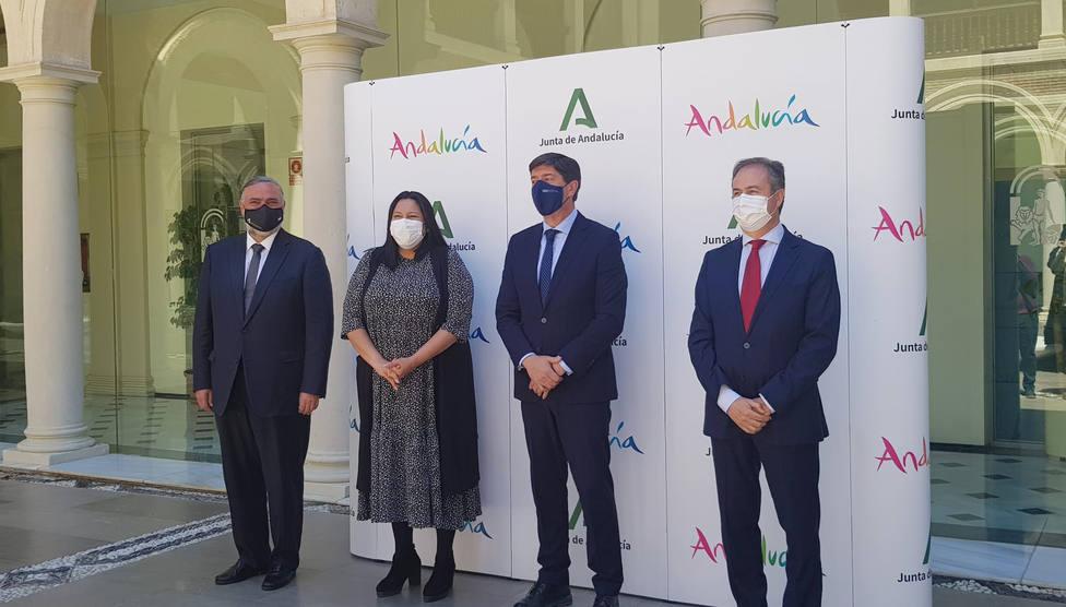 El Patronato Provincial de Turismo y Turismo Andaluz firman un acuerdo para regular acciones de promoción