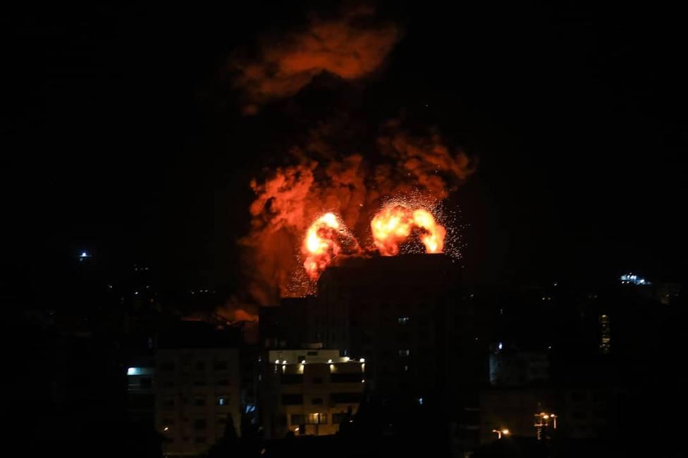 Israel lanza un intenso ataque aéreo contra el norte de la Franja de Gaza