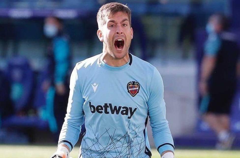 Aitor Fernández, durante esta temporada