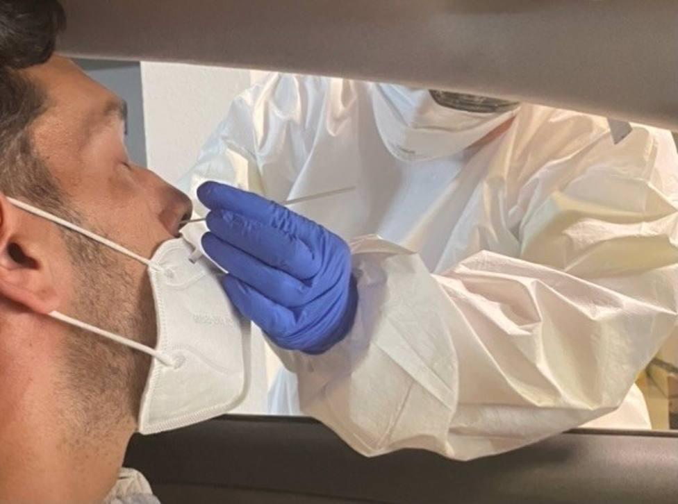 Coronavirus.- El autocovid para realizar PCR sin cita previa en el Ifeba en Badajoz reduce su horario desde este jueves