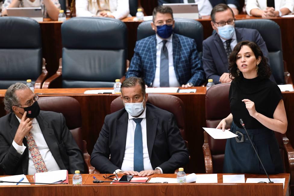 El PSOE carga contra Ayuso por Telemadrid y la presidenta recuerda el dedazo en RTVE con Rosa María Mateo