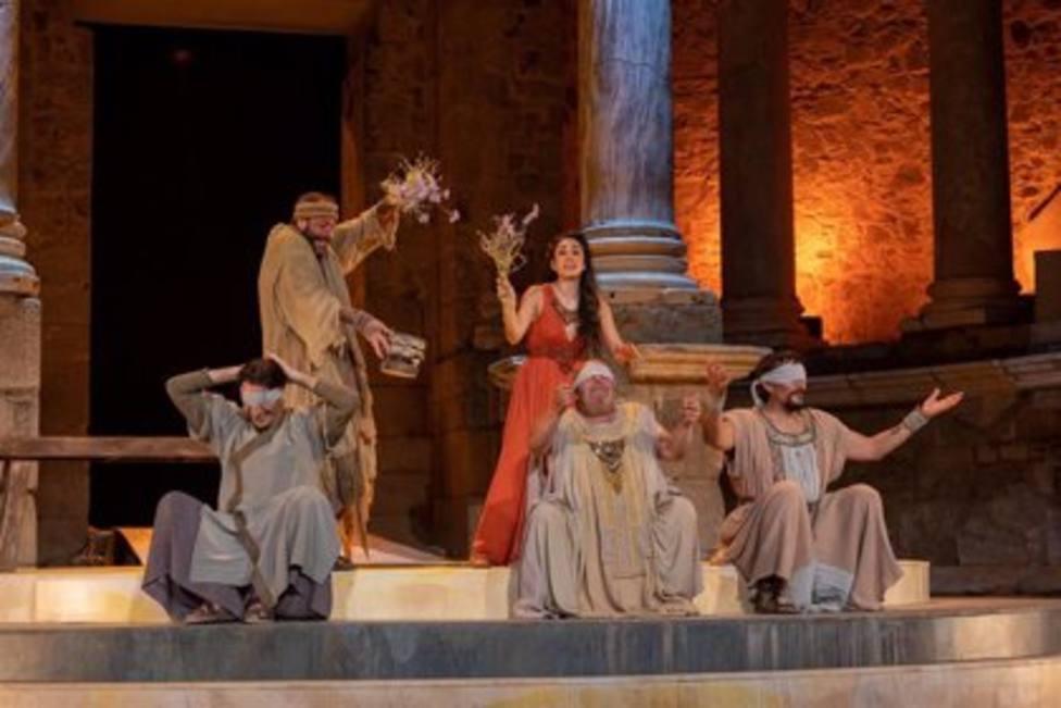 Hipatia, Festival Internacional de Teatro Clásico de Mérida