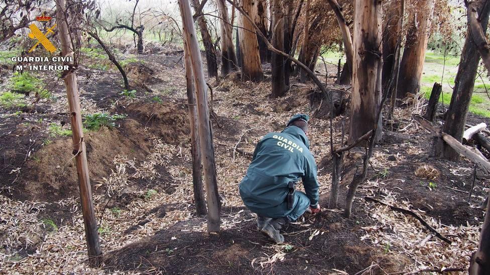 Granada.- Sucesos.- Investigado por un incendio en Gualchos que estuvo activo dos días y calcinó 80 hectáreas