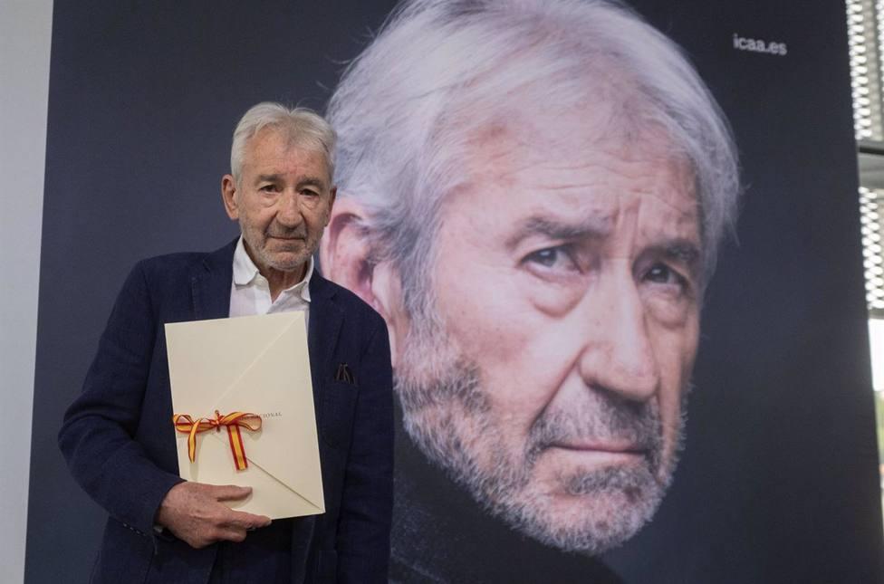 El actor José Sacristán recibe el Premio Nacional de Cinematografía 2021
