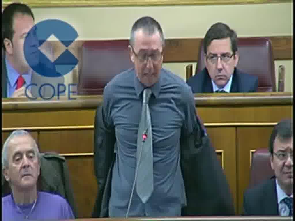 Baldoví Se Desnuda En El Congreso Contra Los Desahucios