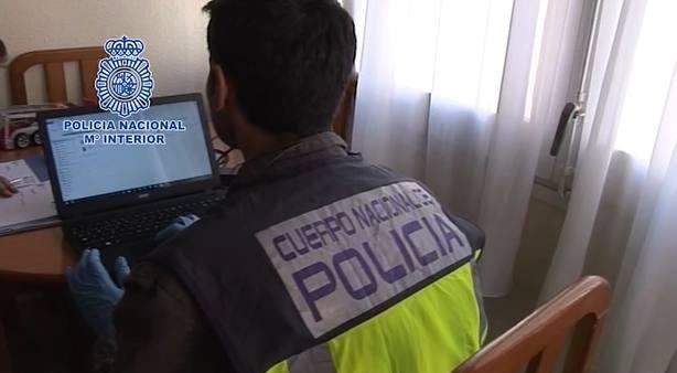 Operación Policía Nacional pedófilos