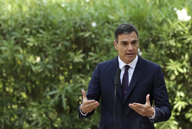 El presidente del Gobierno, Pedro Sánchez. Archivo