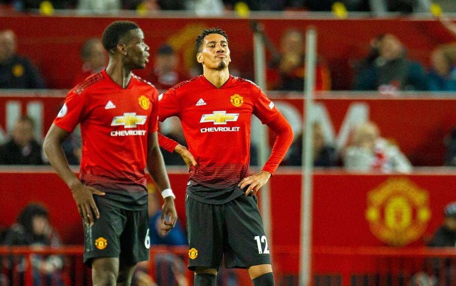 Dura derrota del United ante el Tottenham (EFE)