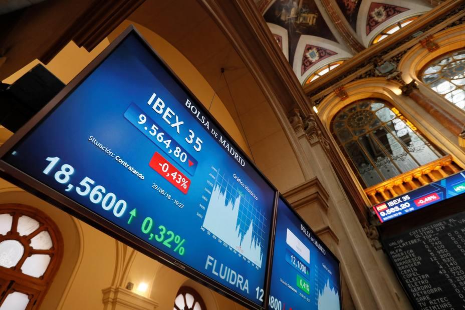 La bolsa aumenta la caída tras la apertura por Inditex y cede el 0,35 %