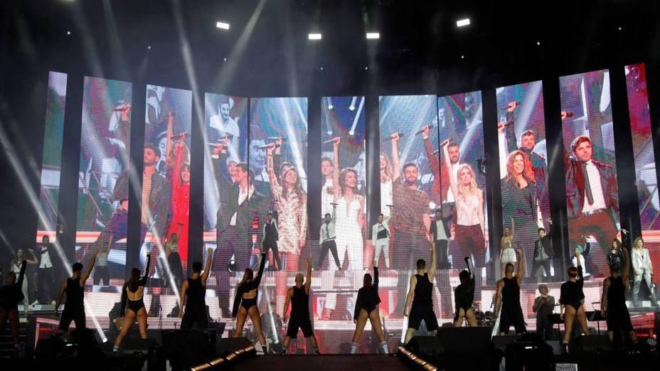 OT 2018 calienta motores con el concierto de sus precedesores en el Bernabéu
