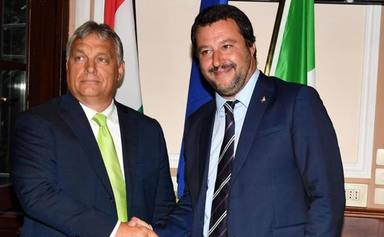 Salvini y Orban