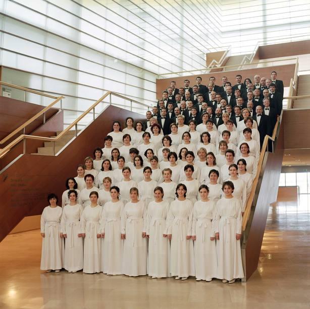 El Orfeón Donostiarra actuará este jueves en el Auditorio Nacional de Madrid con la Orquesta Clásica Santa Cecilia