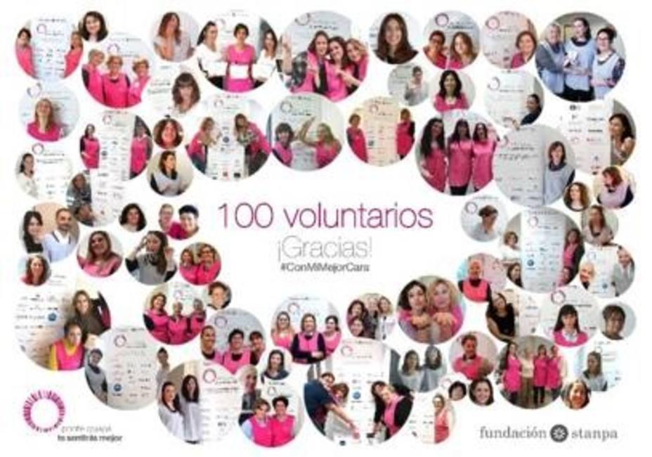 La Fundación Stanpa reúne a 100 voluntarios en su programa Ponte guapa, te sentirás mejor