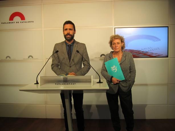 La diputada de ERC Magda Casamitjana formaliza la renuncia a su escaño en el Parlamento catalán