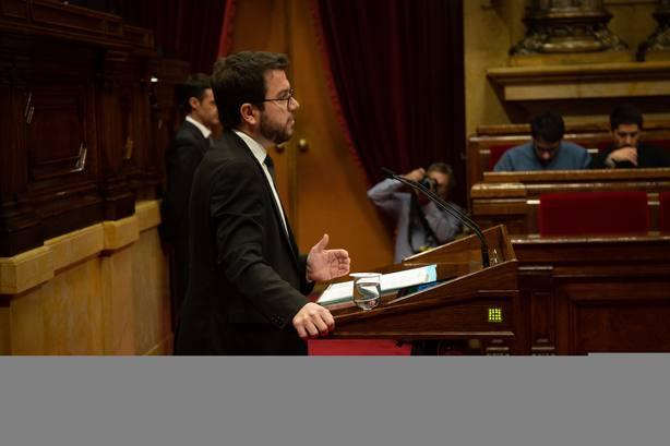 Aragonès mantiene el no a los PGE y pide a Sánchez demostrar que es diferente al PP