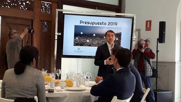 Presentación presupuestos 2019