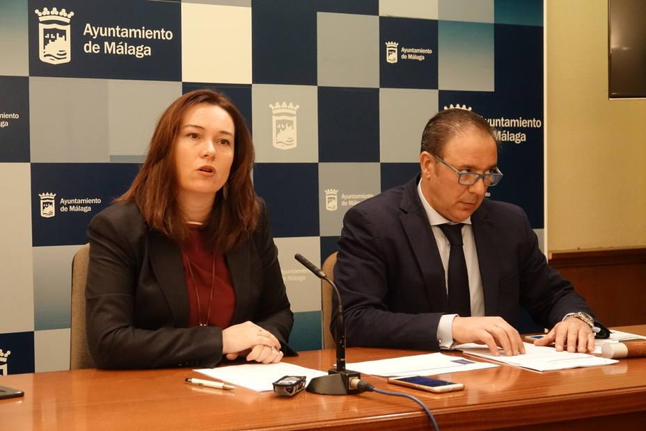 María del Mar Martín Rojo durante presentación de datos