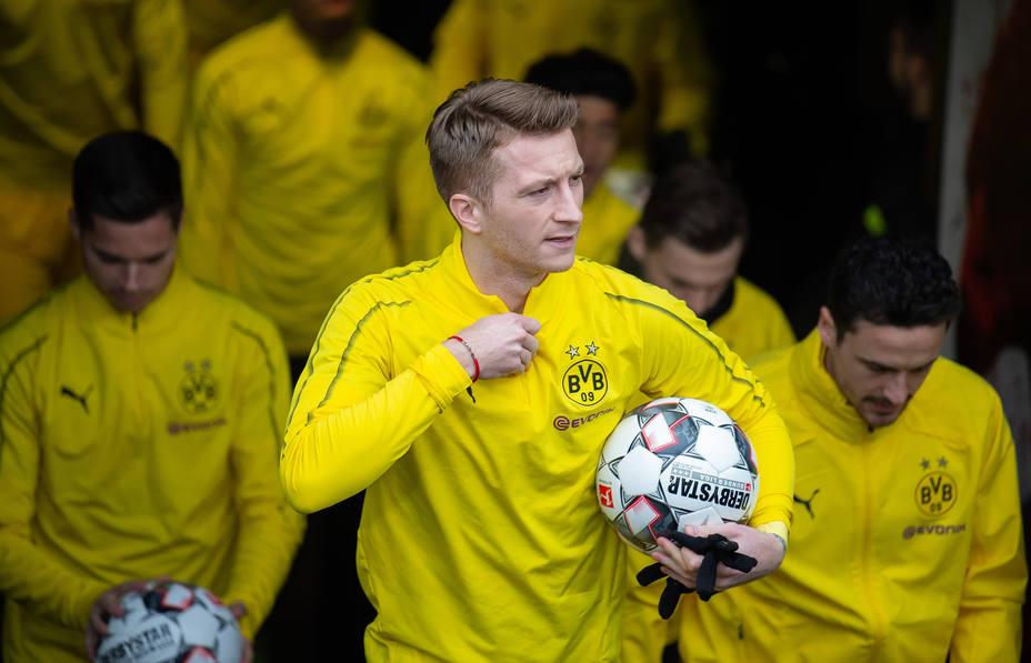 Marco Reus, descartado por el Dortmund para el duelo ante el Tottenham