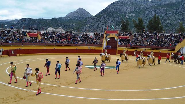 Plaza de toros de la localidad gaditana de Ubrique