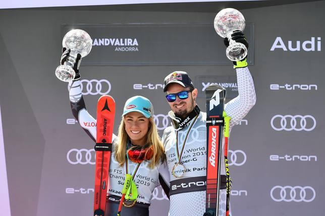 La estadounidense Shiffrin y el italiano Paris conquistan en Grandvarila los Globos de Cristal de Super-G